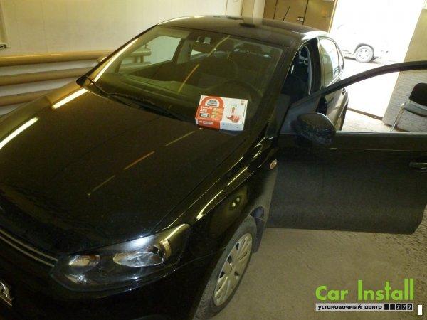 Volkswagen Polo Sedan - Установка сигнализации старлайн